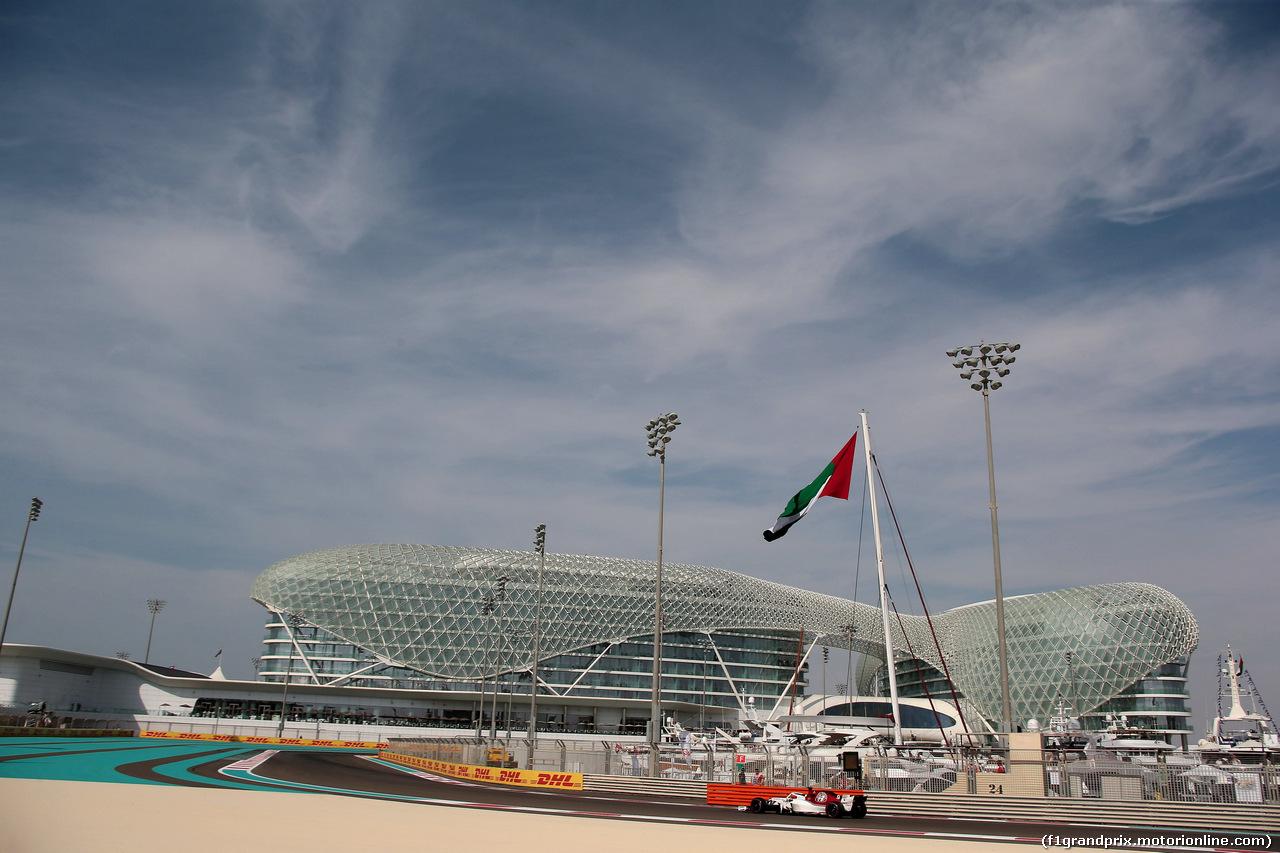 GP ABU DHABI, 24.11.2018 - Prove Libere 3, Marcus Ericsson (SUE) Sauber C37