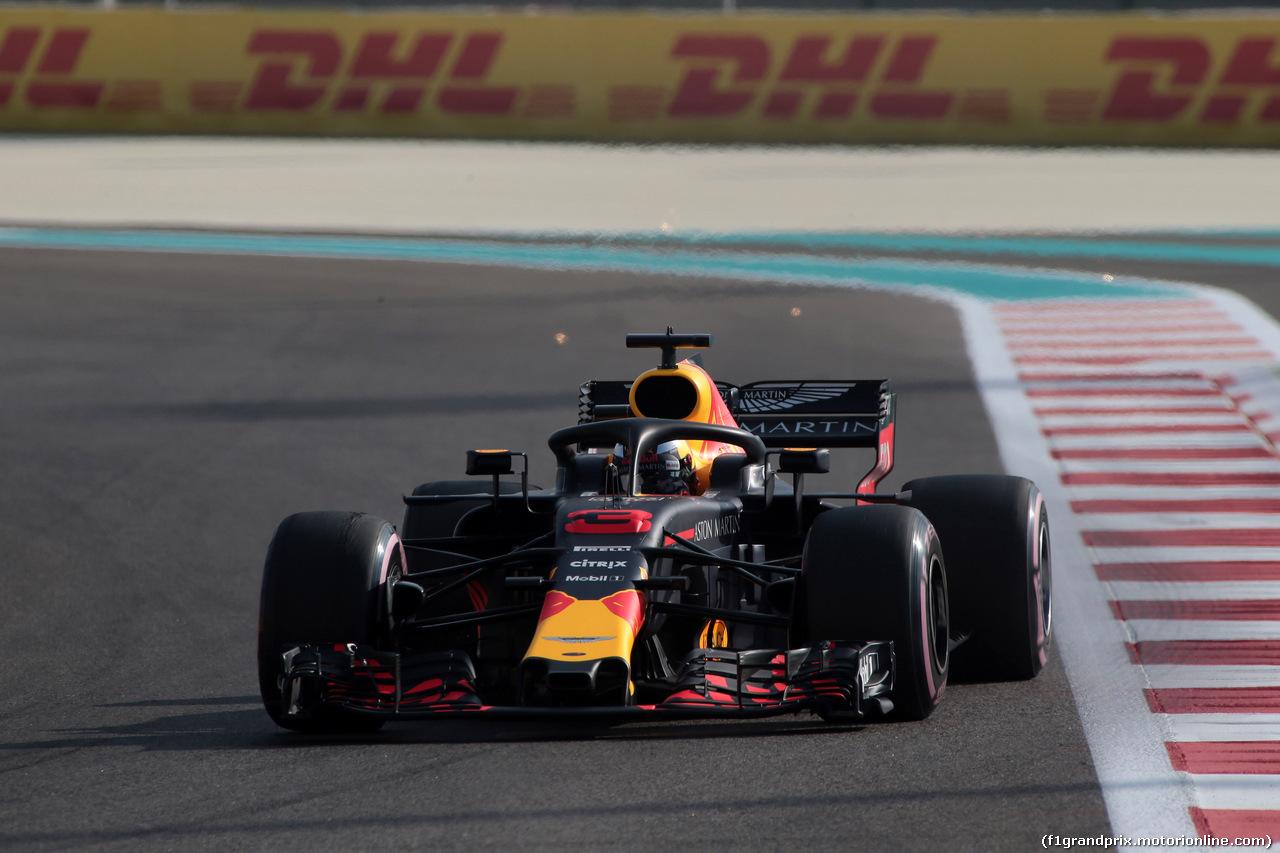 GP ABU DHABI, 24.11.2018 - Prove Libere 3, Daniel Ricciardo (AUS) Red Bull Racing RB14
