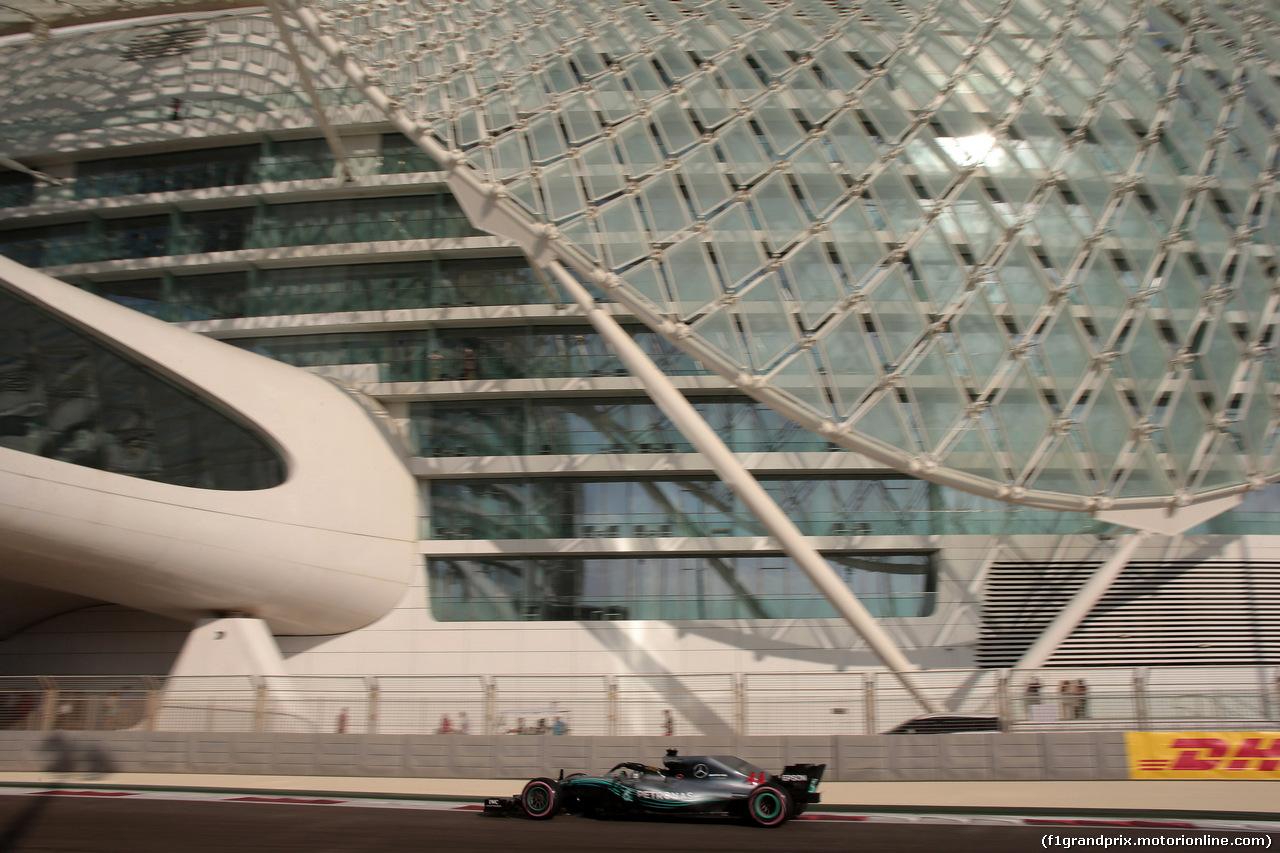 GP ABU DHABI, 24.11.2018 - Prove Libere 3, Lewis Hamilton (GBR) Mercedes AMG F1 W09