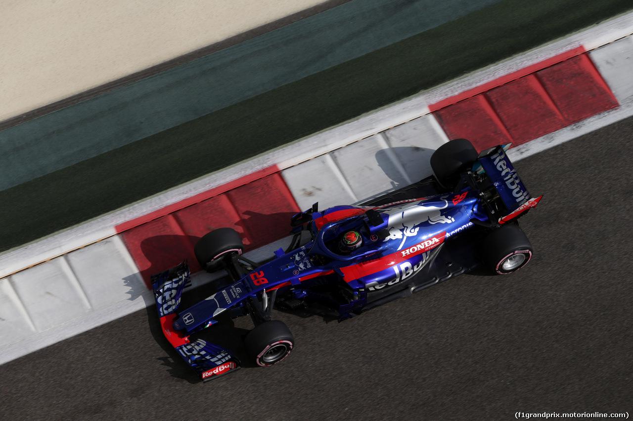 GP ABU DHABI, 24.11.2018 - Prove Libere 3, Brendon Hartley (NZL) Scuderia Toro Rosso STR13