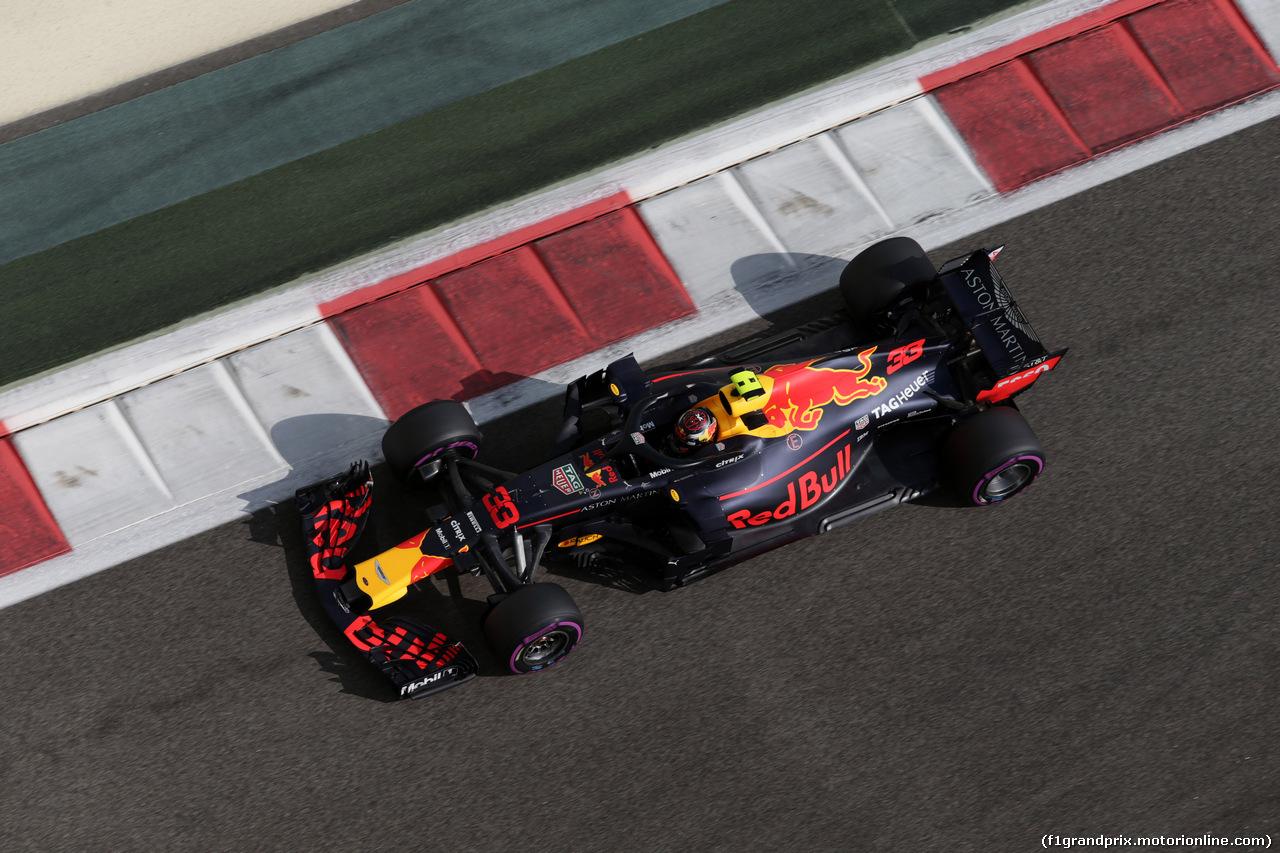 GP ABU DHABI, 24.11.2018 - Prove Libere 3, Max Verstappen (NED) Red Bull Racing RB14