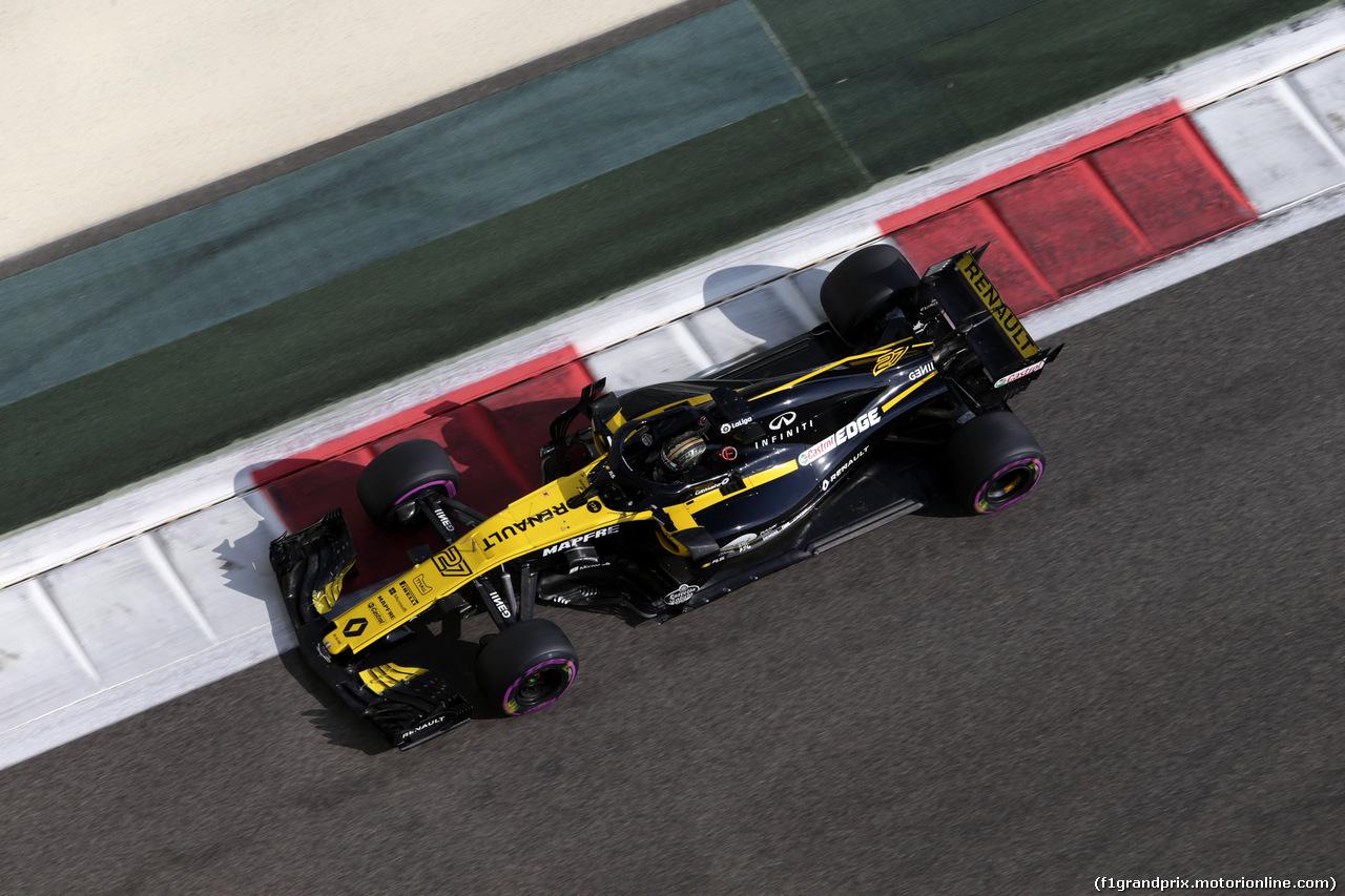 GP ABU DHABI, 24.11.2018 - Prove Libere 3, Nico Hulkenberg (GER) Renault Sport F1 Team RS18