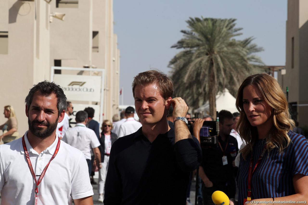 GP ABU DHABI, 24.11.2018 - Prove Libere 3, Timo Glock (GER) e Nico Rosberg (GER)