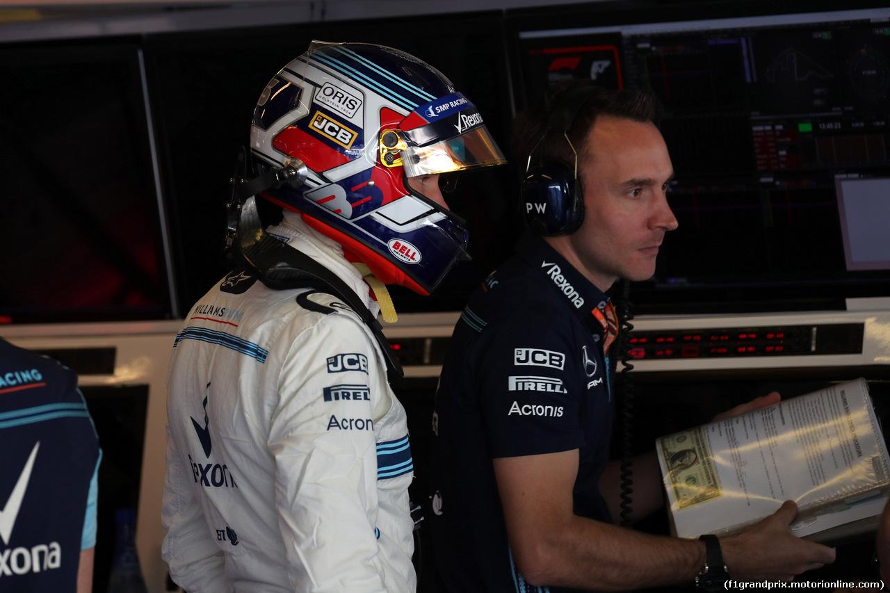 GP ABU DHABI, 24.11.2018 - Prove Libere 3, Sergey Sirotkin (RUS) Williams FW41