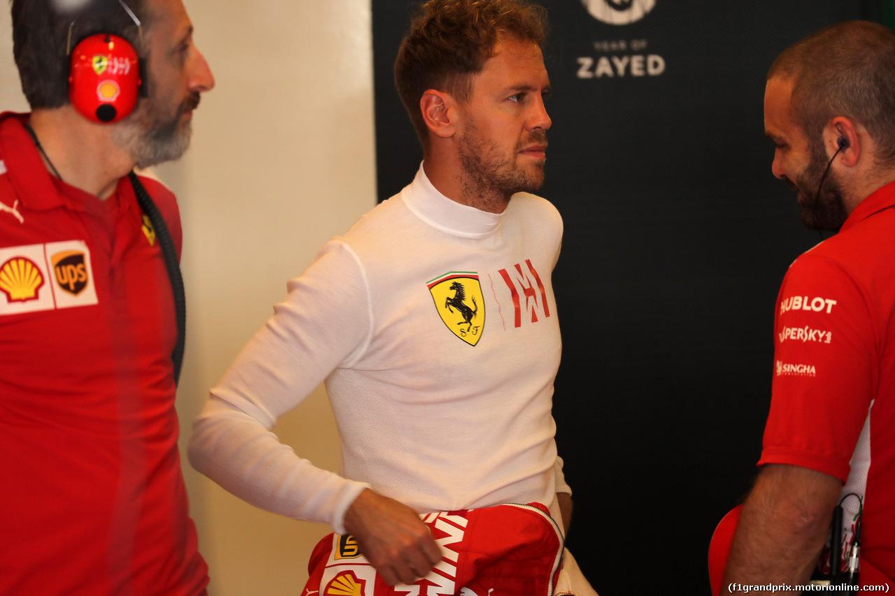 GP ABU DHABI, 24.11.2018 - Prove Libere 3, Sebastian Vettel (GER) Ferrari SF71H