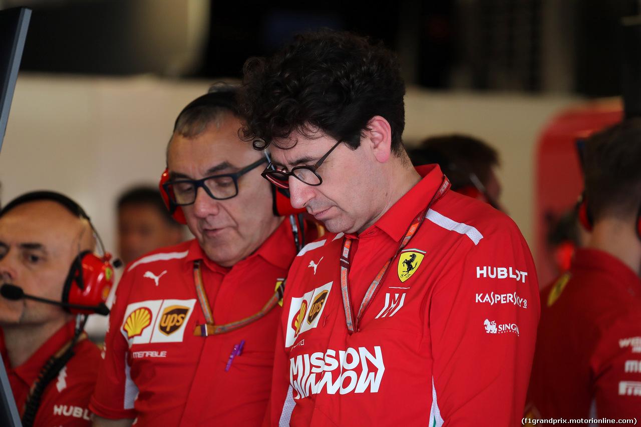 GP ABU DHABI, 24.11.2018 - Prove Libere 3, Riccardo Adami (ITA) Ferrari Gara Engineer
