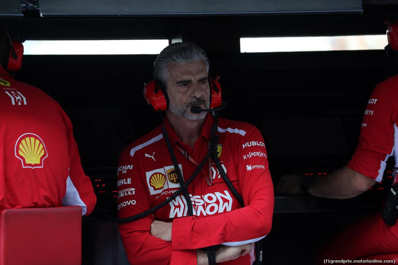 GP ABU DHABI, 24.11.2018 - Prove Libere 3, Maurizio Arrivabene (ITA) Ferrari Team Principal