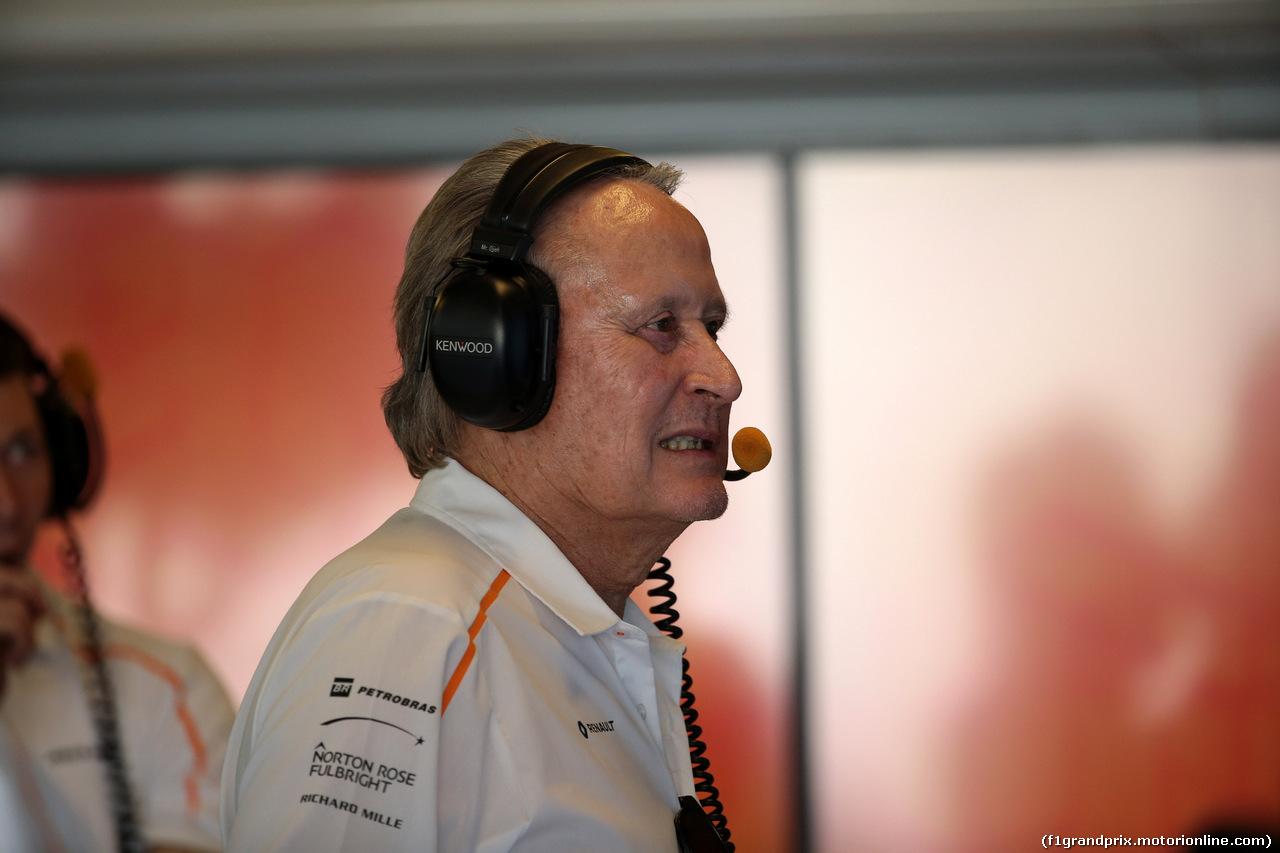 GP ABU DHABI, 24.11.2018 - Prove Libere 3, Mansour Ojeh, McLaren shareholder