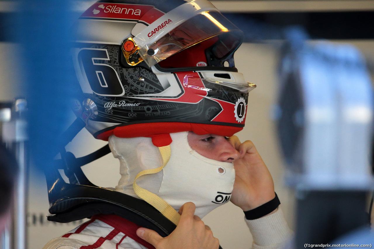 GP ABU DHABI, 24.11.2018 - Prove Libere 3, Charles Leclerc (MON) Sauber C37
