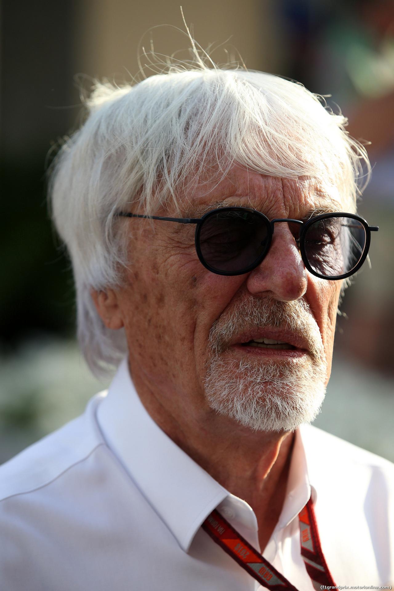 GP ABU DHABI, 24.11.2018 - Qualifiche, Bernie Ecclestone (GBR)