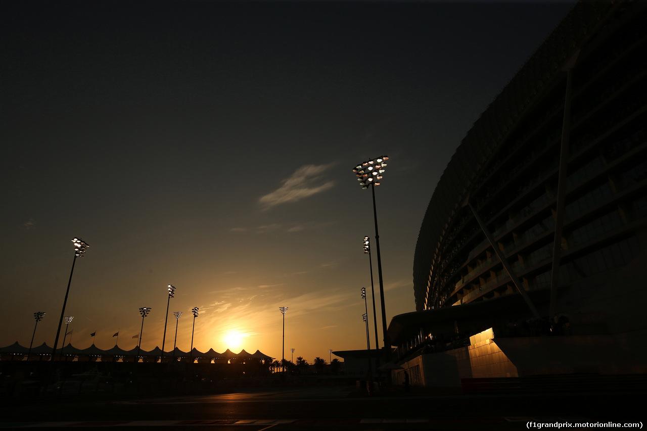 GP ABU DHABI, 24.11.2018 - Qualifiche, Circuit Atmosphere