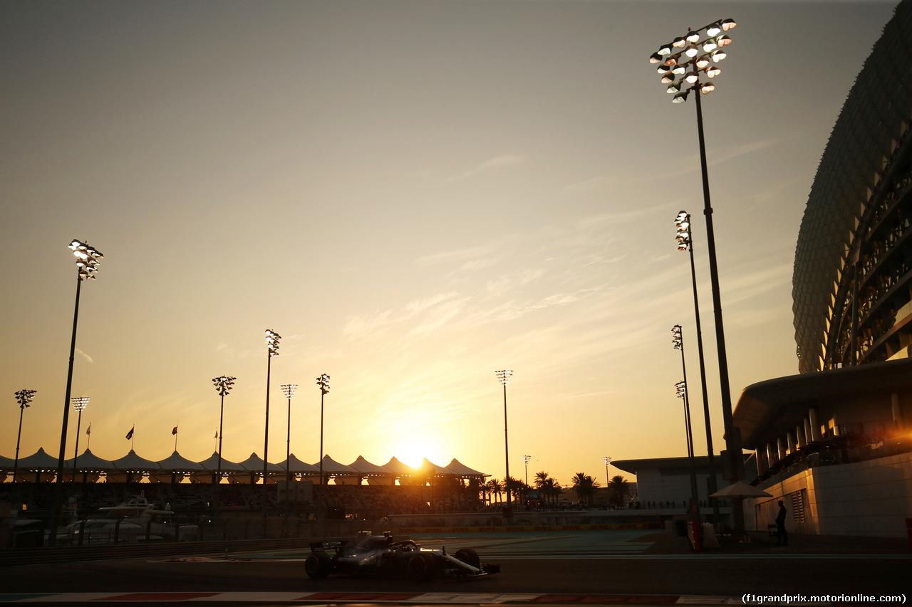 GP ABU DHABI, 24.11.2018 - Qualifiche, Valtteri Bottas (FIN) Mercedes AMG F1 W09