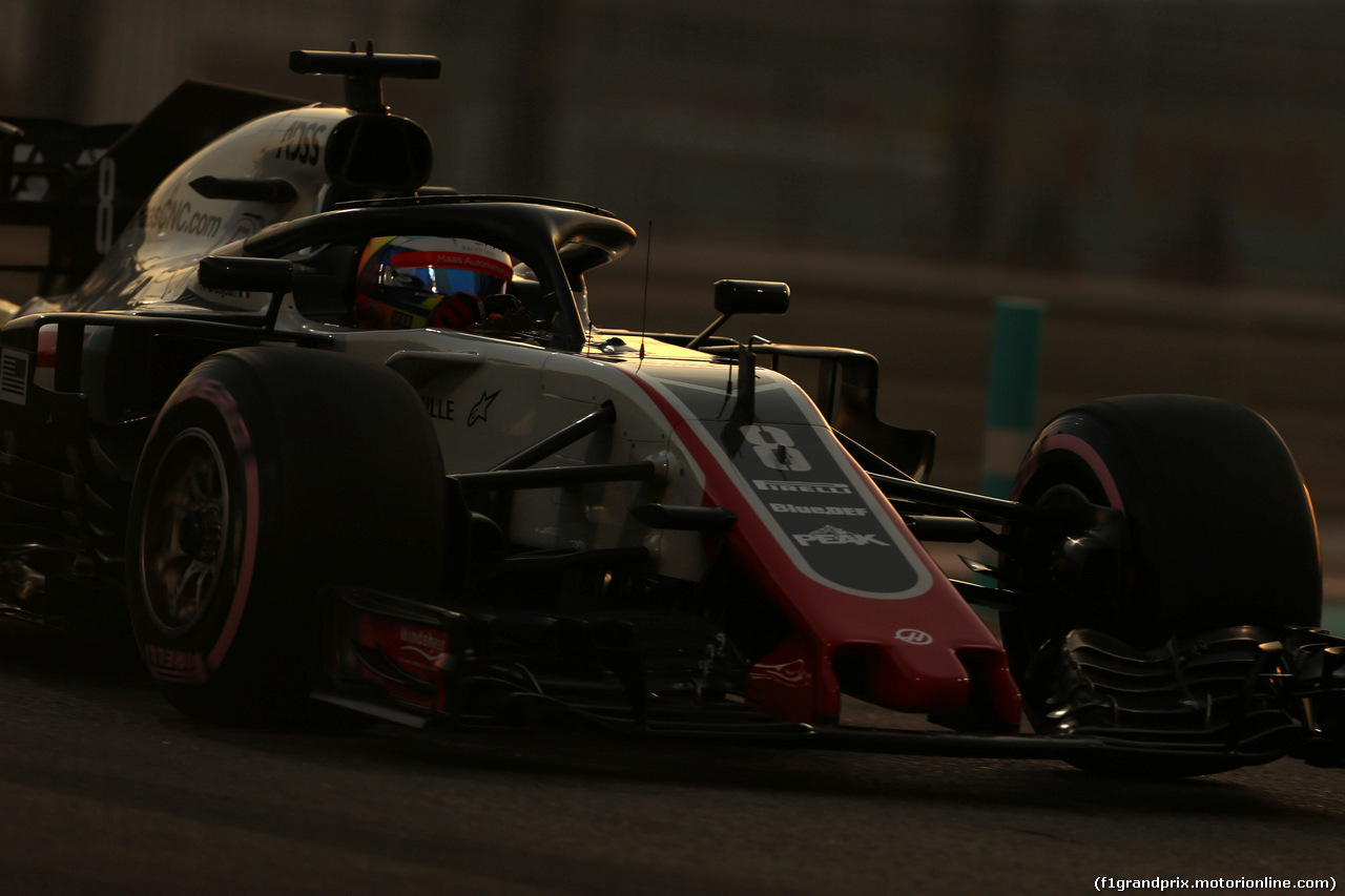 GP ABU DHABI, 24.11.2018 - Qualifiche, Romain Grosjean (FRA) Haas F1 Team VF-18