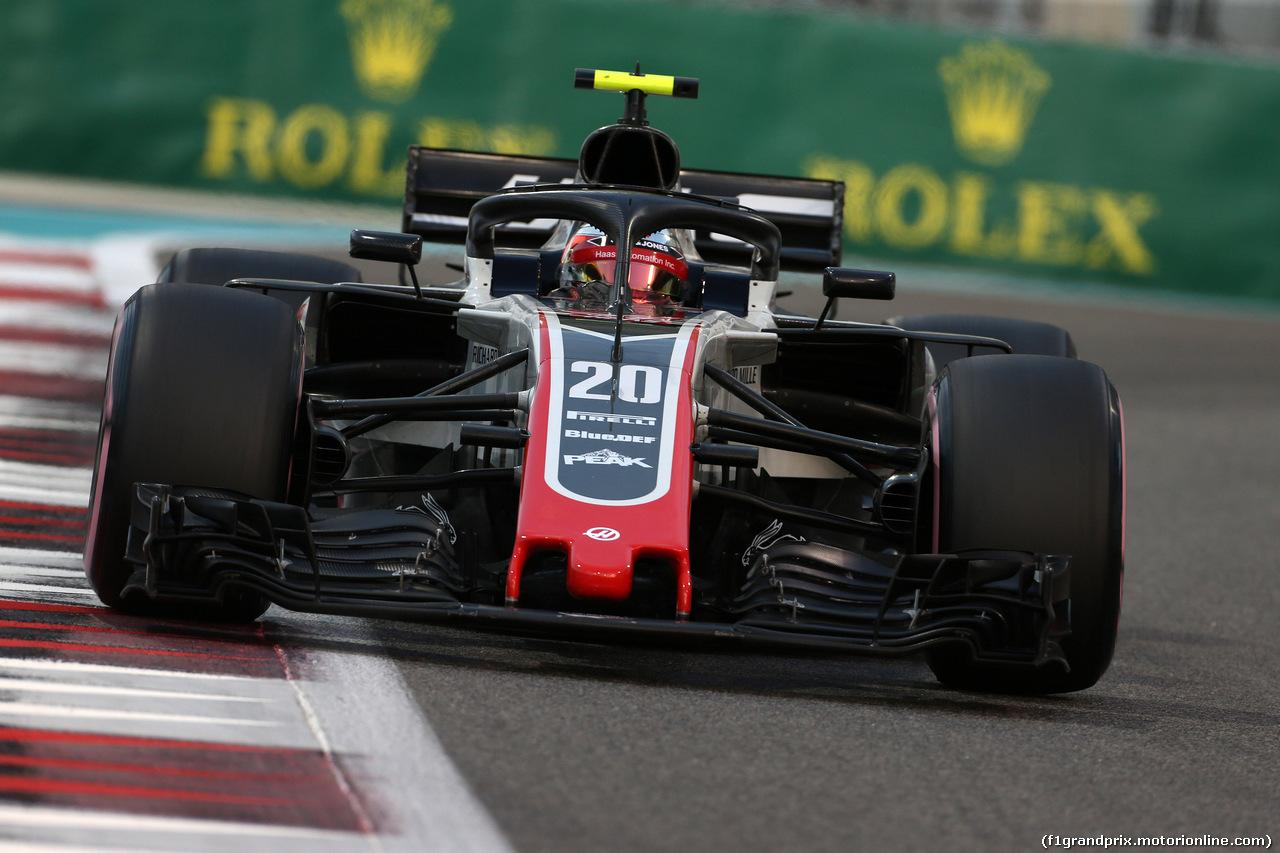 GP ABU DHABI, 24.11.2018 - Qualifiche, Kevin Magnussen (DEN) Haas F1 Team VF-18