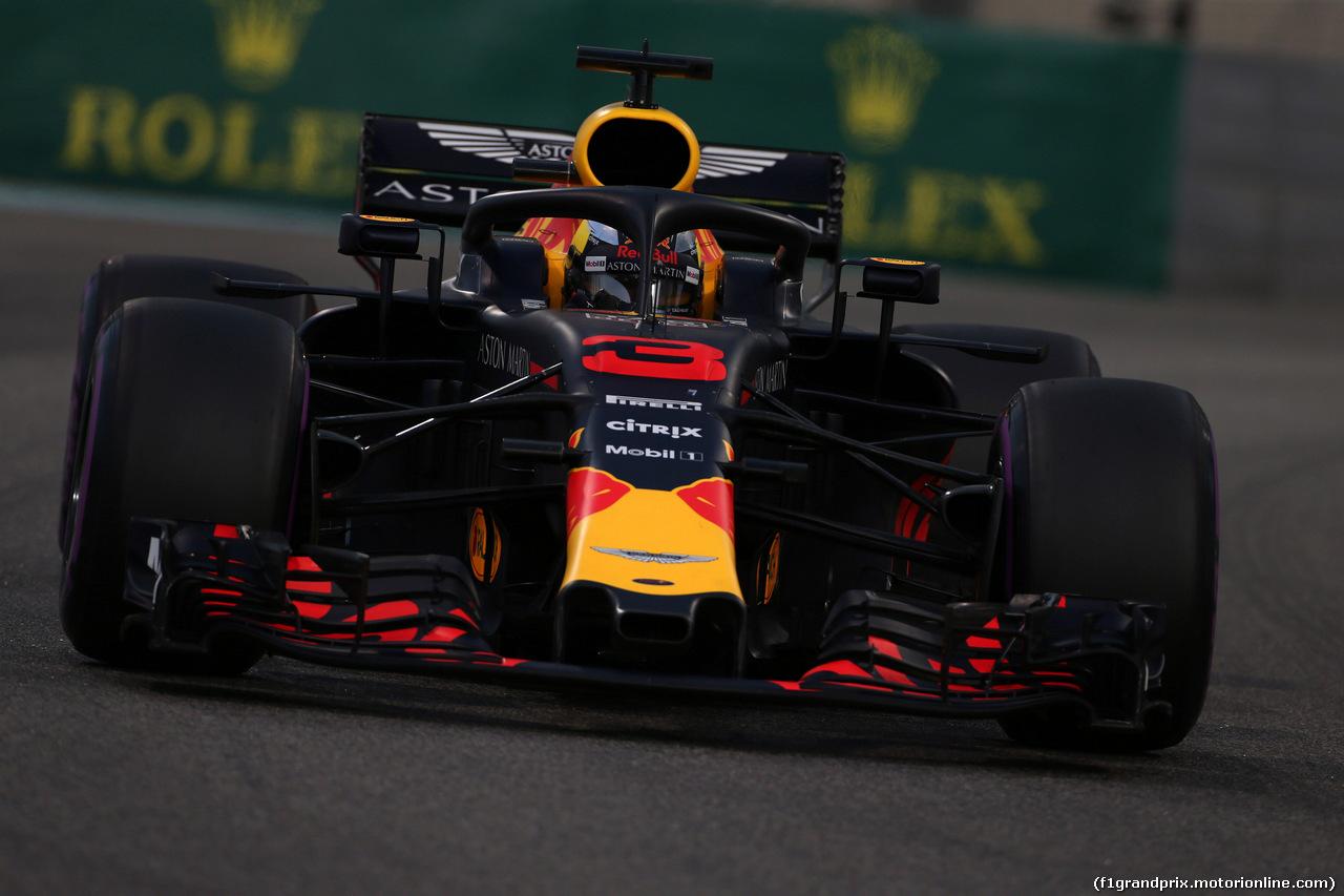 GP ABU DHABI, 24.11.2018 - Qualifiche, Daniel Ricciardo (AUS) Red Bull Racing RB14
