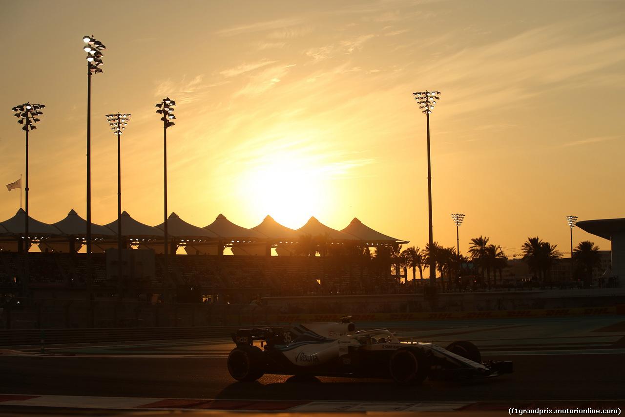 GP ABU DHABI, 24.11.2018 - Qualifiche, Sergey Sirotkin (RUS) Williams FW41