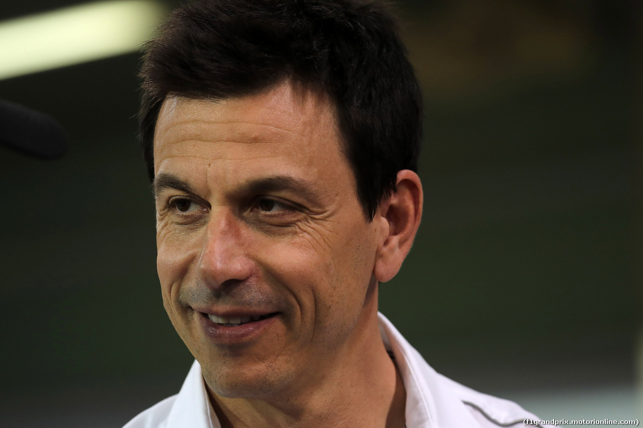 GP ABU DHABI, 24.11.2018 - Qualifiche, Toto Wolff (GER) Mercedes AMG F1 Shareholder e Executive Director