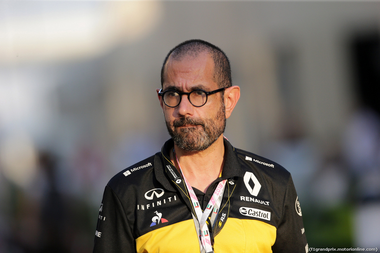 GP ABU DHABI, 24.11.2018 - Qualifiche, Thierry Koskas (FRA) Renault Executive Vice President, Sales & Marketing