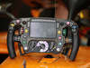 GP ABU DHABI, 24.11.2018 - Free Practice 3, The steering wheel of Stoffel Vandoorne (BEL) McLaren MCL33