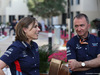 GP ABU DHABI, 24.11.2018 - Qualifiche, Claire Williams (GBR) Williams Deputy Team Principal. e Paddy Lowe (GBR), Williams chief technical officer