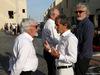 GP ABU DHABI, 24.11.2018 - Qualifiche, Bernie Ecclestone (GBR), Alain Prost (FRA) Renault Sport F1 Team Special Advisor e Flavio Briatore (ITA)