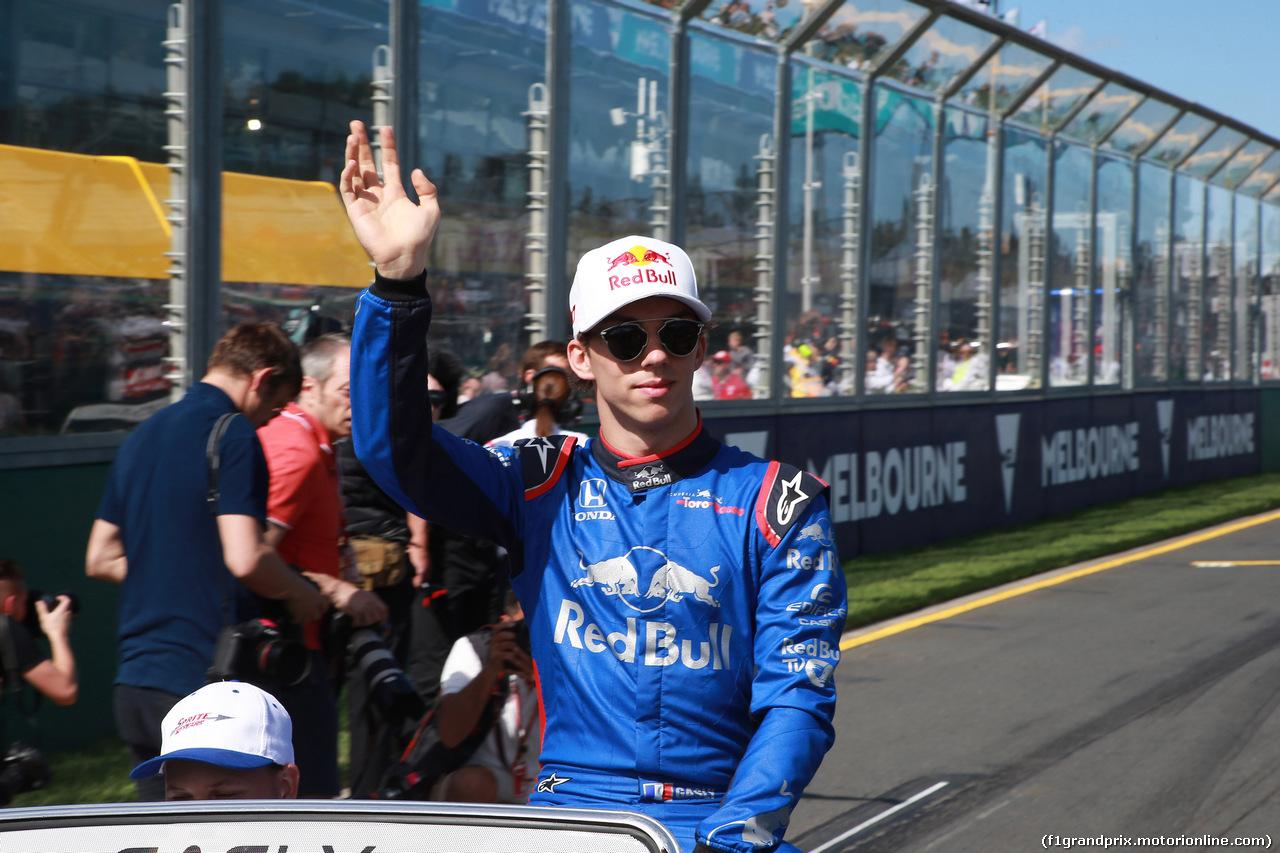 GP AUSTRALIA, 25.03.2018 - Pierre Gasly (FRA) Scuderia Toro Rosso STR13