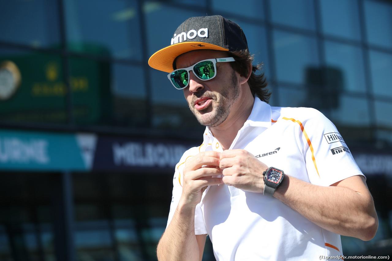 GP AUSTRALIA, 25.03.2018 - Fernando Alonso (ESP) McLaren MCL33