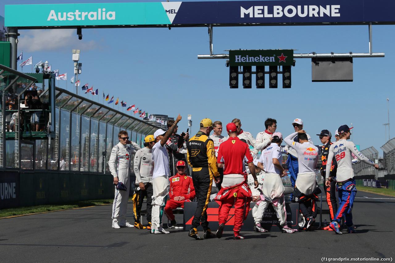 GP AUSTRALIA, 25.03.2018 - Drivers