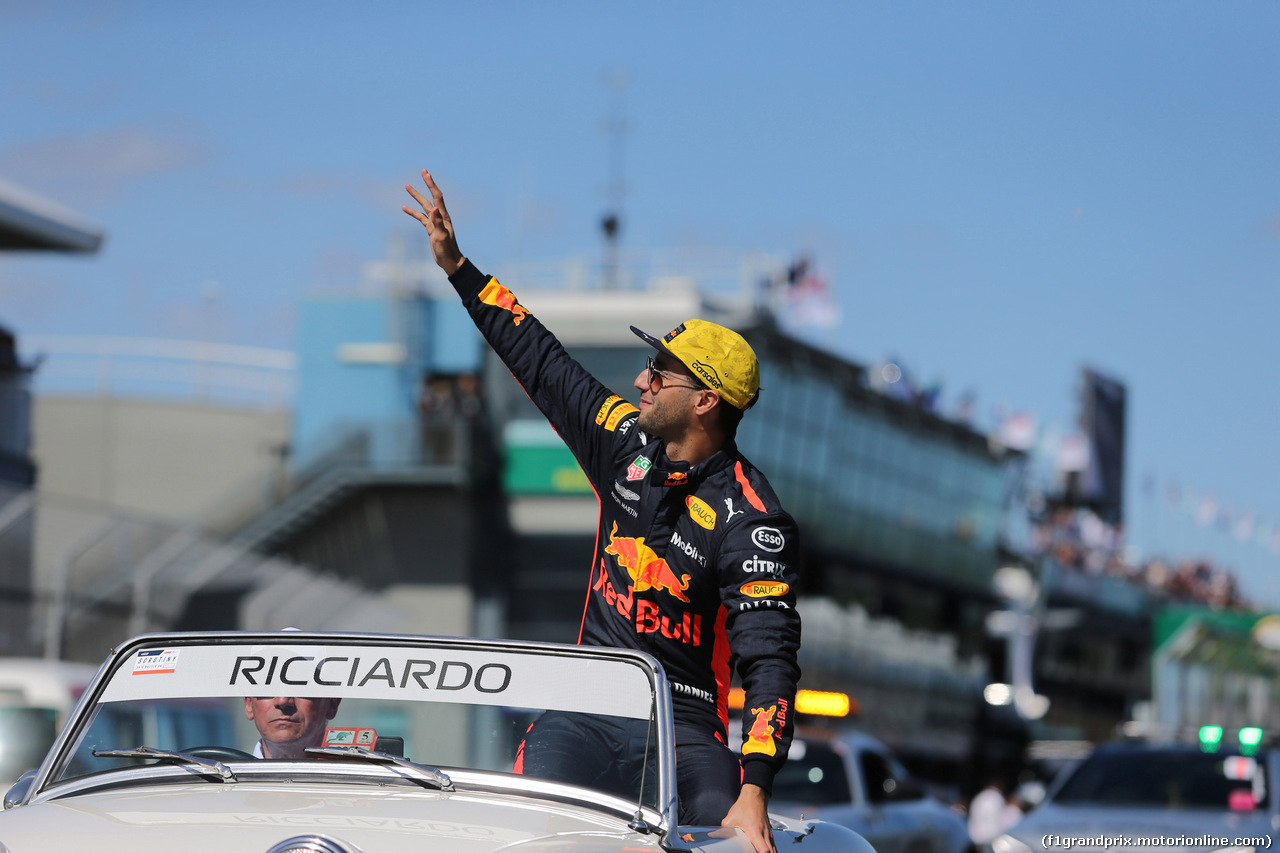 GP AUSTRALIA, 25.03.2018 - Daniel Ricciardo (AUS) Red Bull Racing RB14