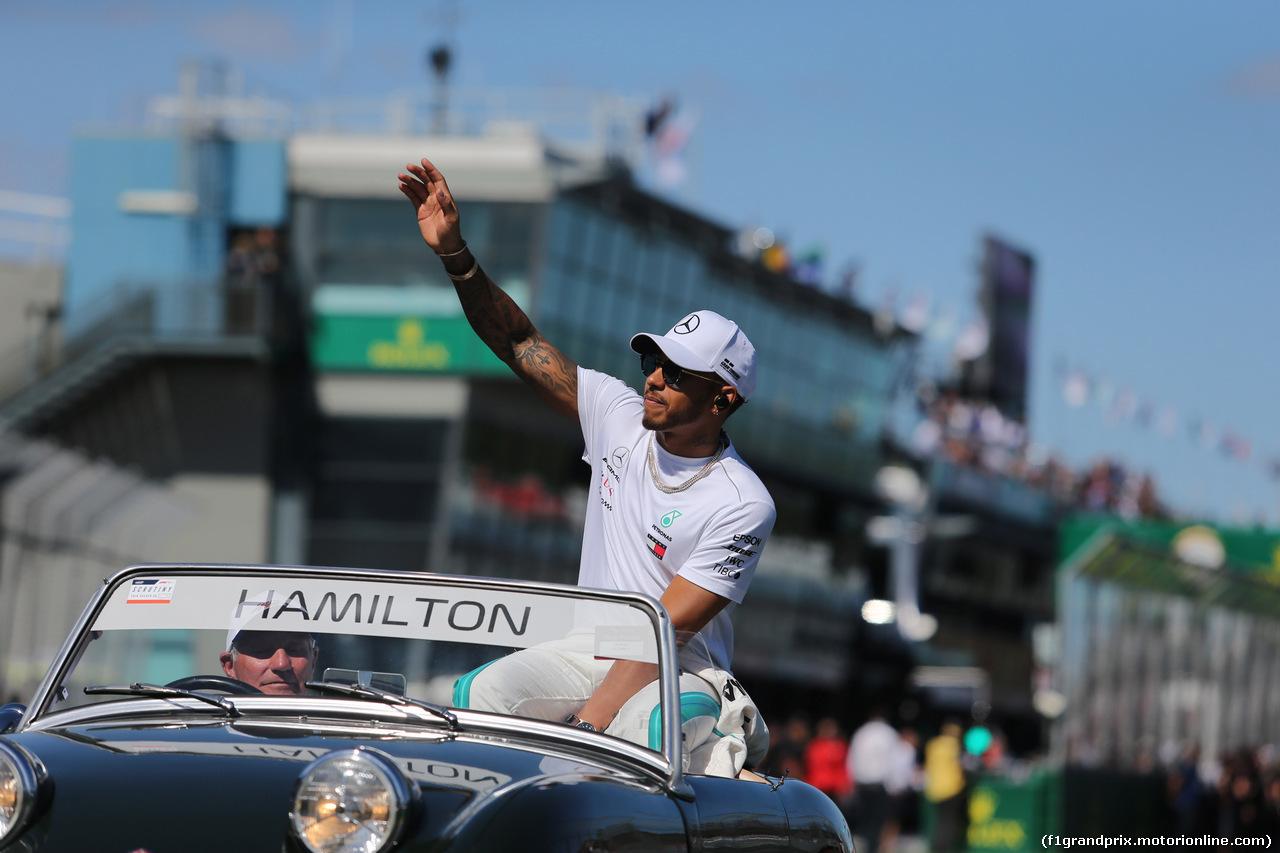 GP AUSTRALIA, 25.03.2018 - Lewis Hamilton (GBR) Mercedes AMG F1 W09