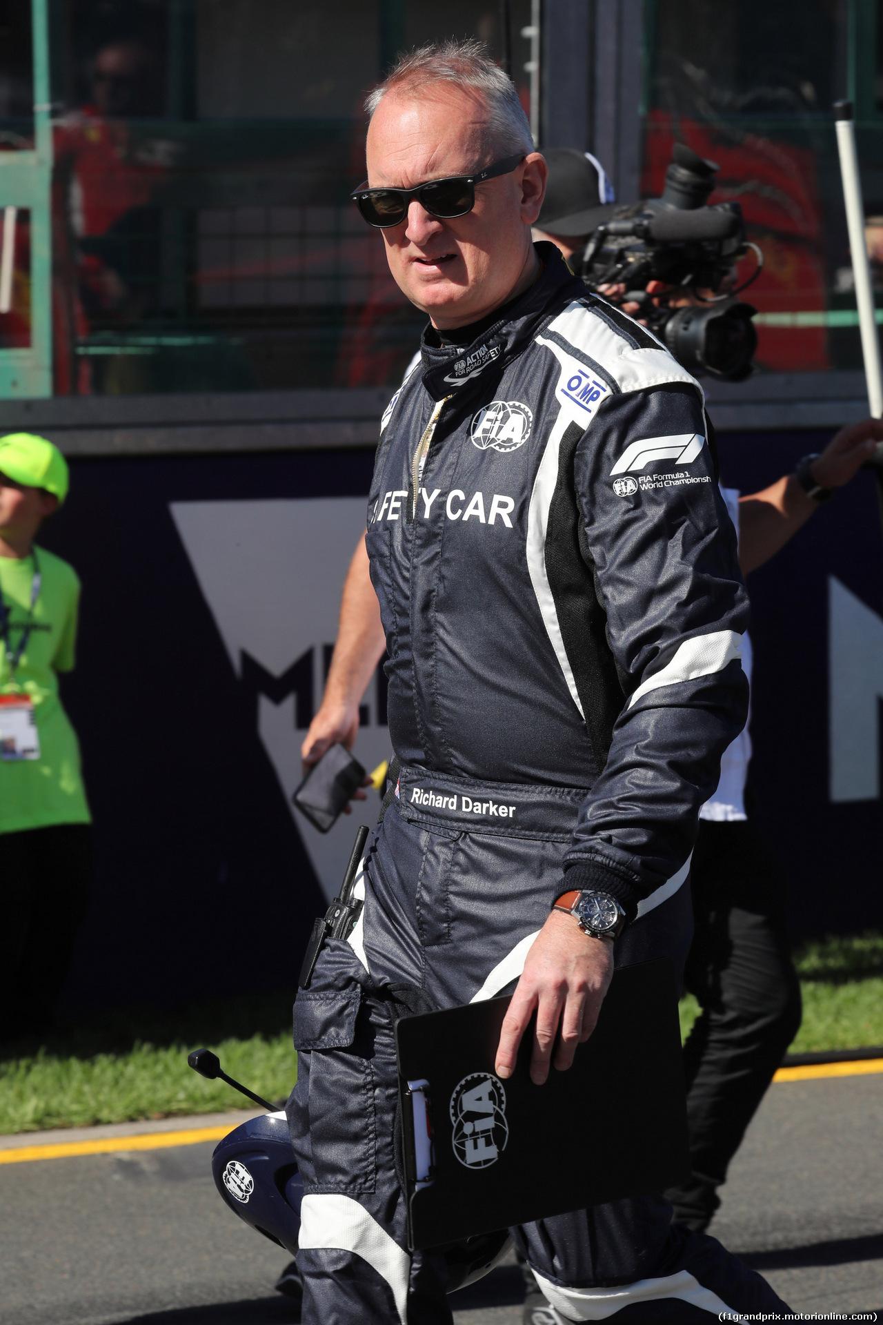 GP AUSTRALIA, 25.03.2018 - Gara, Richard Darker