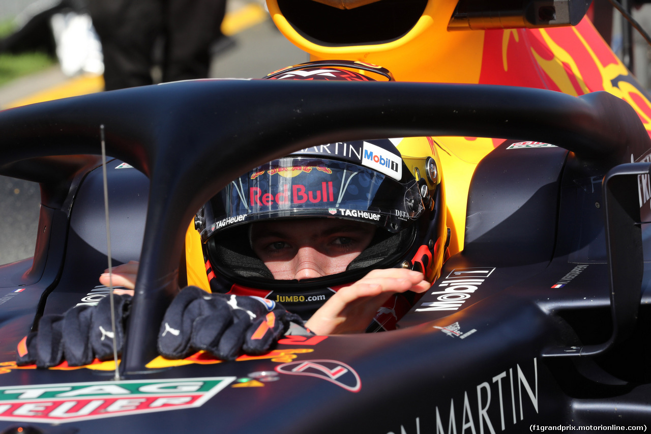 GP AUSTRALIA, 25.03.2018 - Gara, Max Verstappen (NED) Red Bull Racing RB14