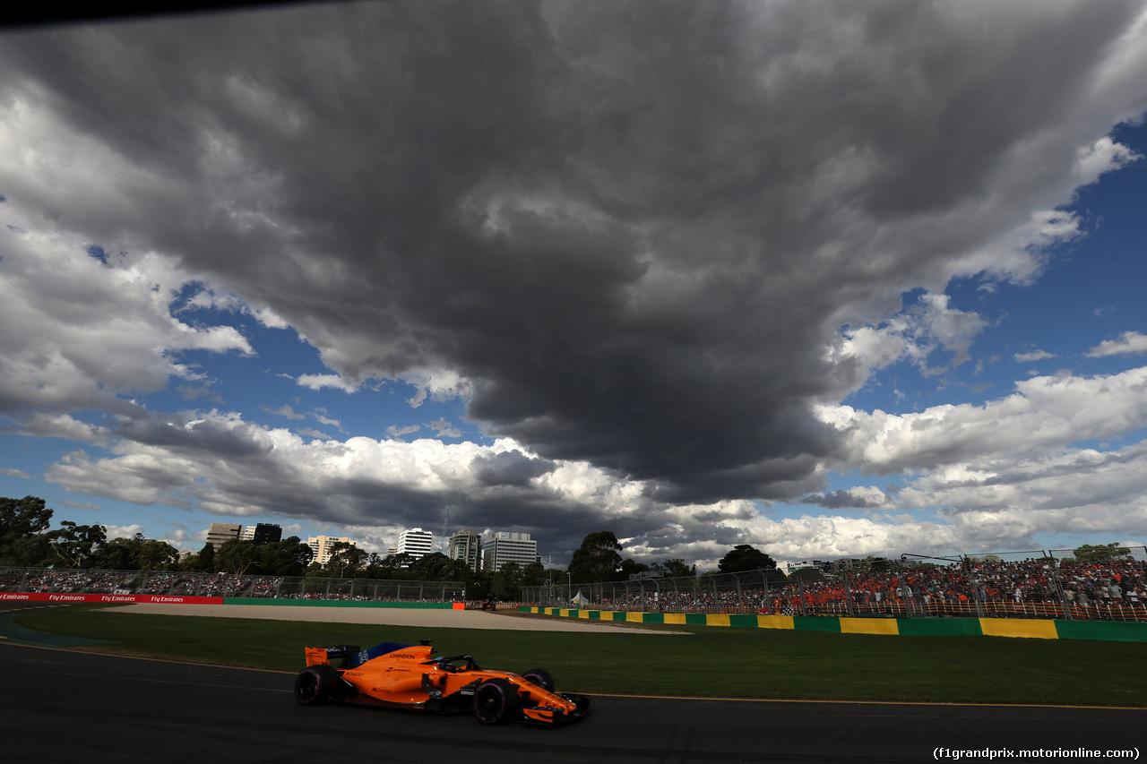GP AUSTRALIA, 25.03.2018 - Gara, Fernando Alonso (ESP) McLaren MCL33