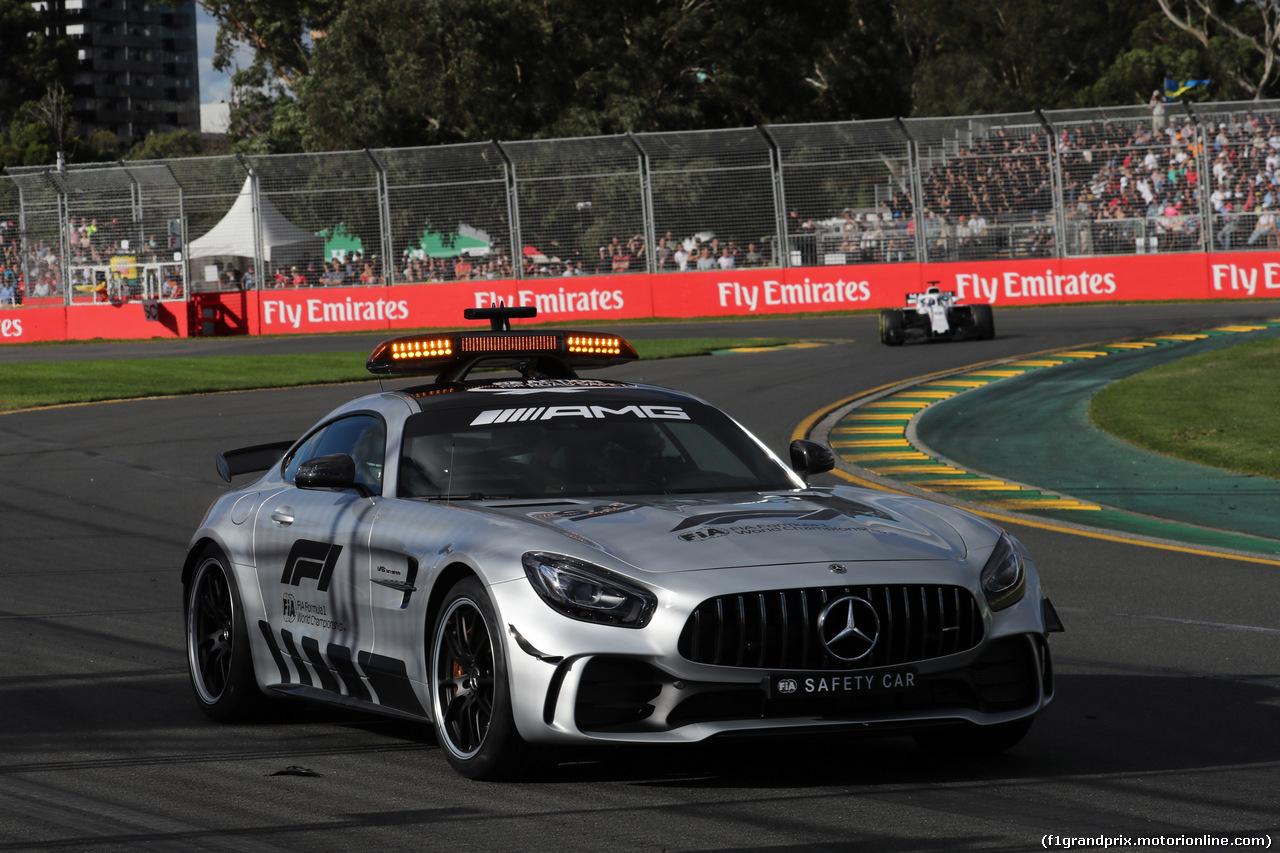 GP AUSTRALIA, 25.03.2018 - Gara, The Safety car