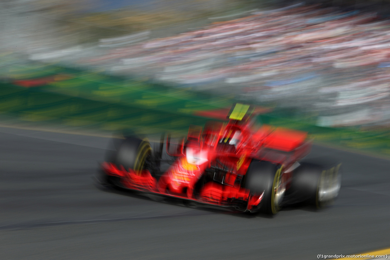 GP AUSTRALIA, 25.03.2018 - Gara, Kimi Raikkonen (FIN) Ferrari SF71H