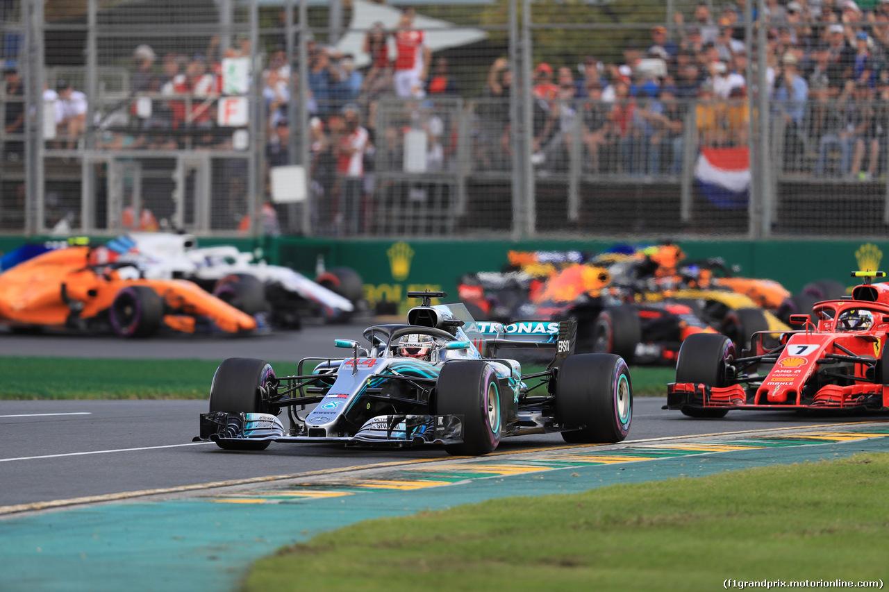GP AUSTRALIA, 25.03.2018 - Gara, Start of the race