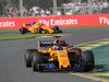 GP AUSTRALIA, 25.03.2018 - Gara, Fernando Alonso (ESP) McLaren MCL33 davanti a Stoffel Vandoorne (BEL) McLaren MCL33