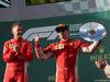 GP AUSTRALIA, 25.03.2018 - Gara, Sebastian Vettel (GER) Ferrari SF71H vincitore e 3rd place Kimi Raikkonen (FIN) Ferrari SF71H