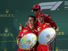 GP AUSTRALIA, 25.03.2018 - Gara, 1st place Sebastian Vettel (GER) Ferrari SF71H e 3rd place Kimi Raikkonen (FIN) Ferrari SF71H with Iñaki Rueda (ESP) Ferrari Strategy