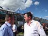 GP AUSTRALIA, 25.03.2018 - Gara, Jos Verstappen e Eric Boullier (FRA) McLaren Racing Director