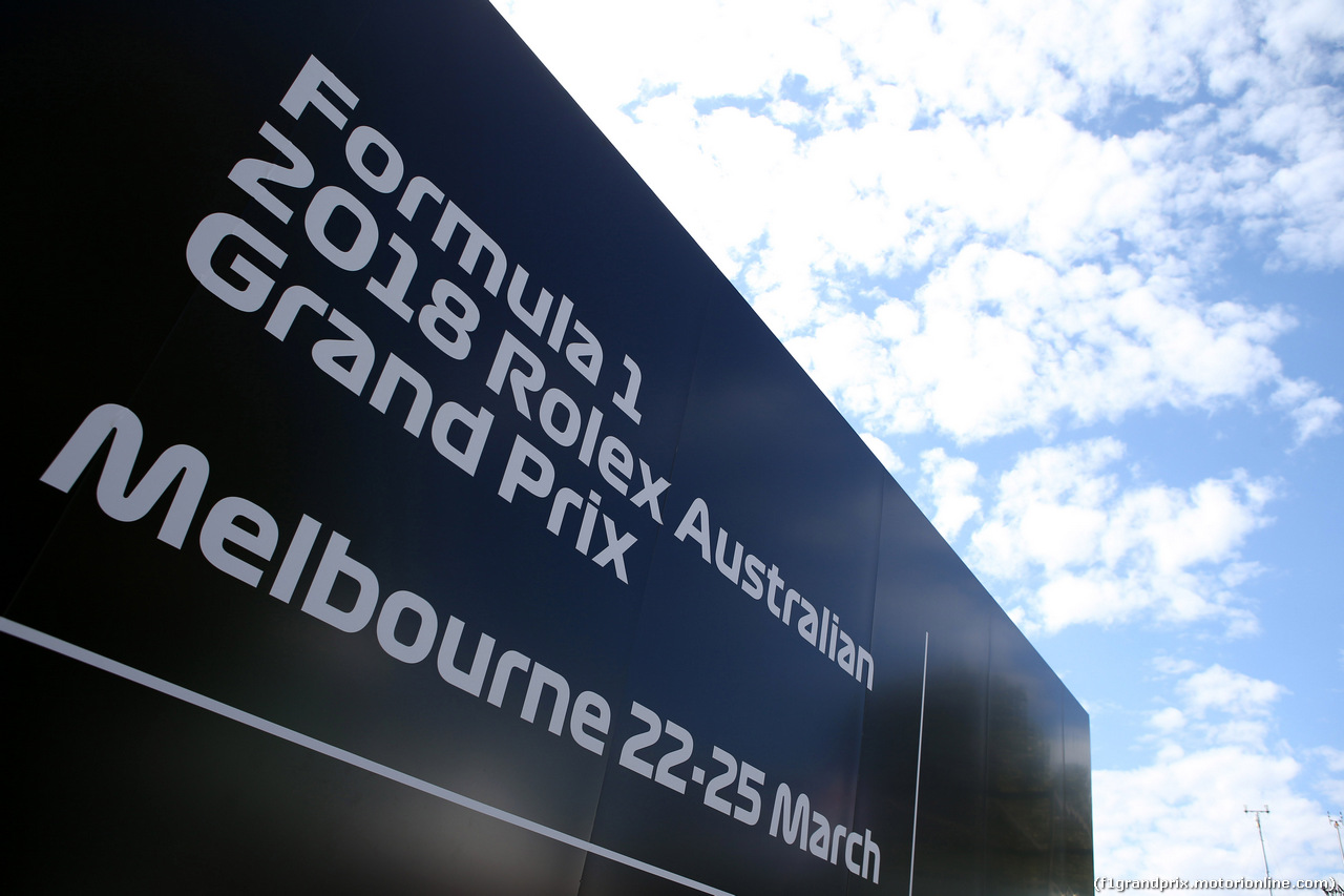GP AUSTRALIA, 21.03.2018 - Atmosphere