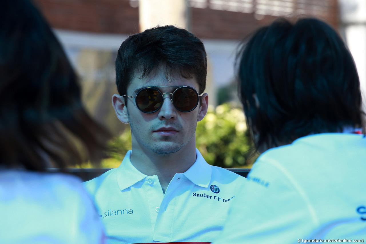 GP AUSTRALIA, 21.03.2018 - Charles Leclerc (MON) Sauber C37