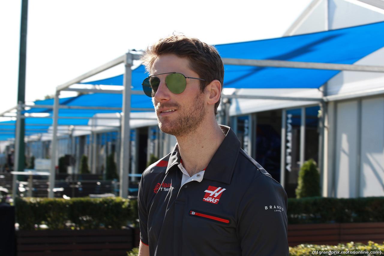 GP AUSTRALIA, 21.03.2018 - Romain Grosjean (FRA) Haas F1 Team VF-18