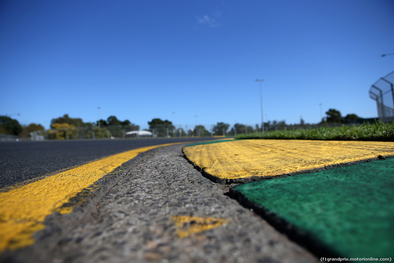 GP AUSTRALIA, 21.03.2018 - Track detail