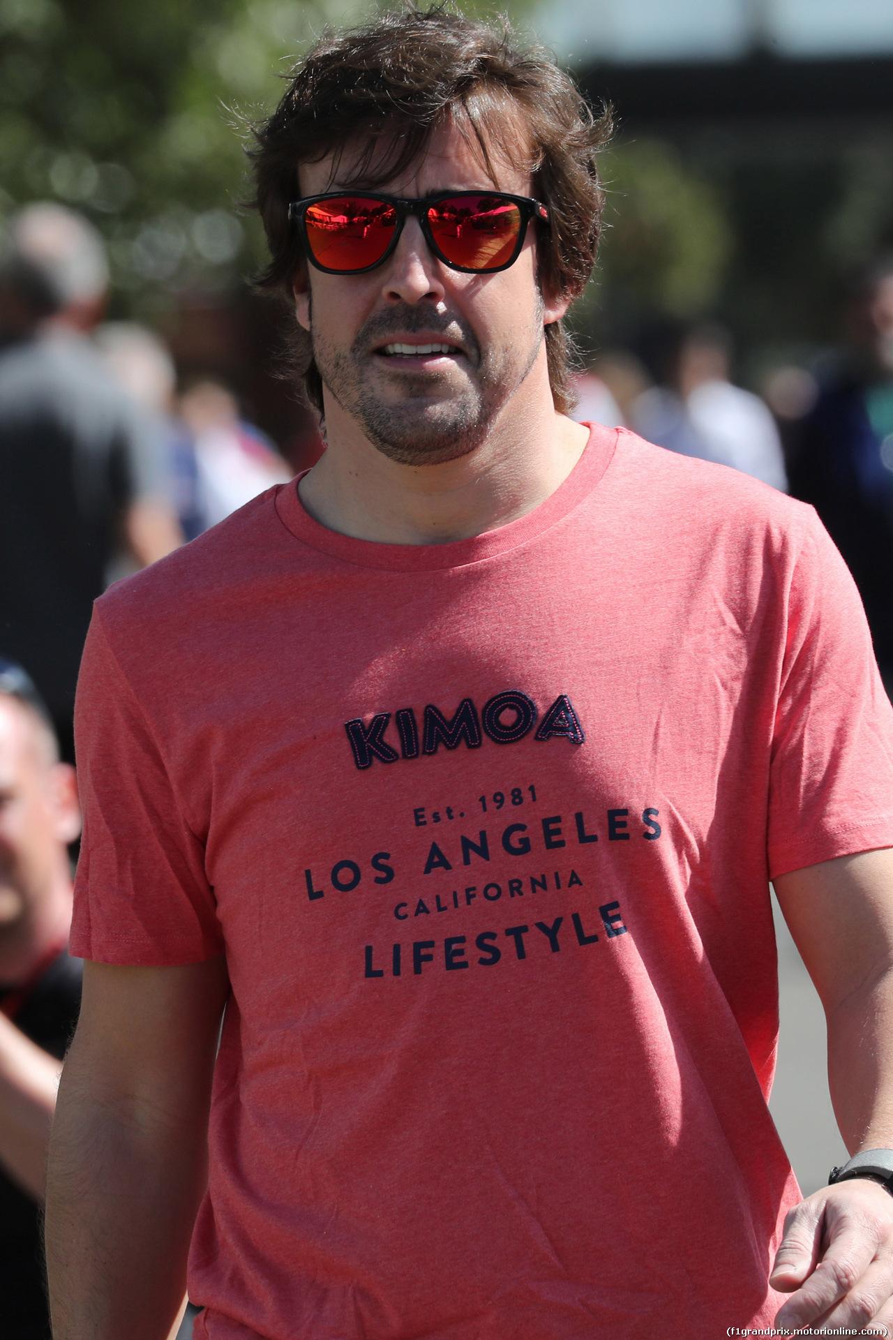GP AUSTRALIA, 22.03.2018 - Fernando Alonso (ESP) McLaren MCL33