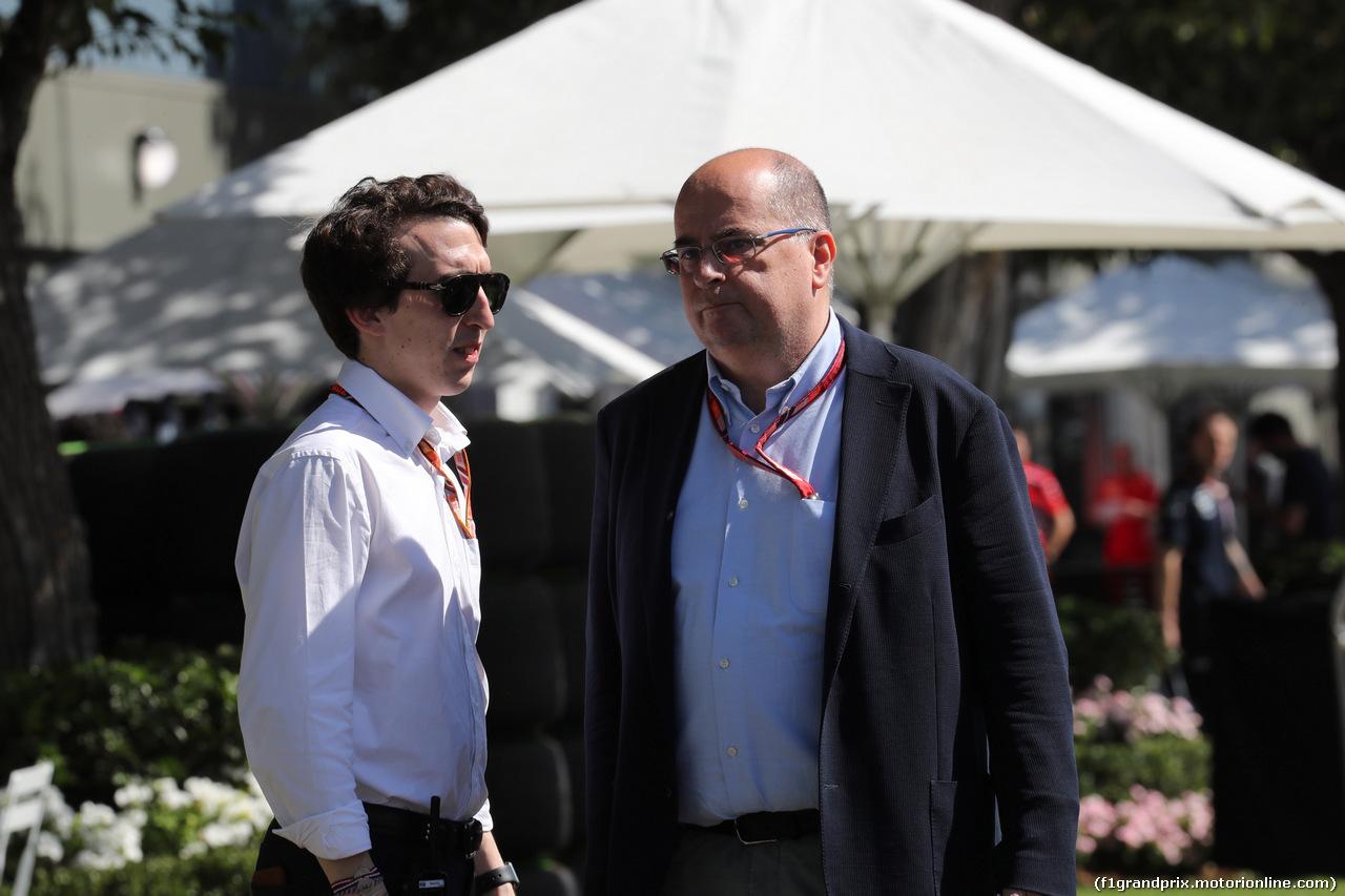 GP AUSTRALIA, 22.03.2018 - Luca Colajanni (ITA), Formula One Senior Communications Officer