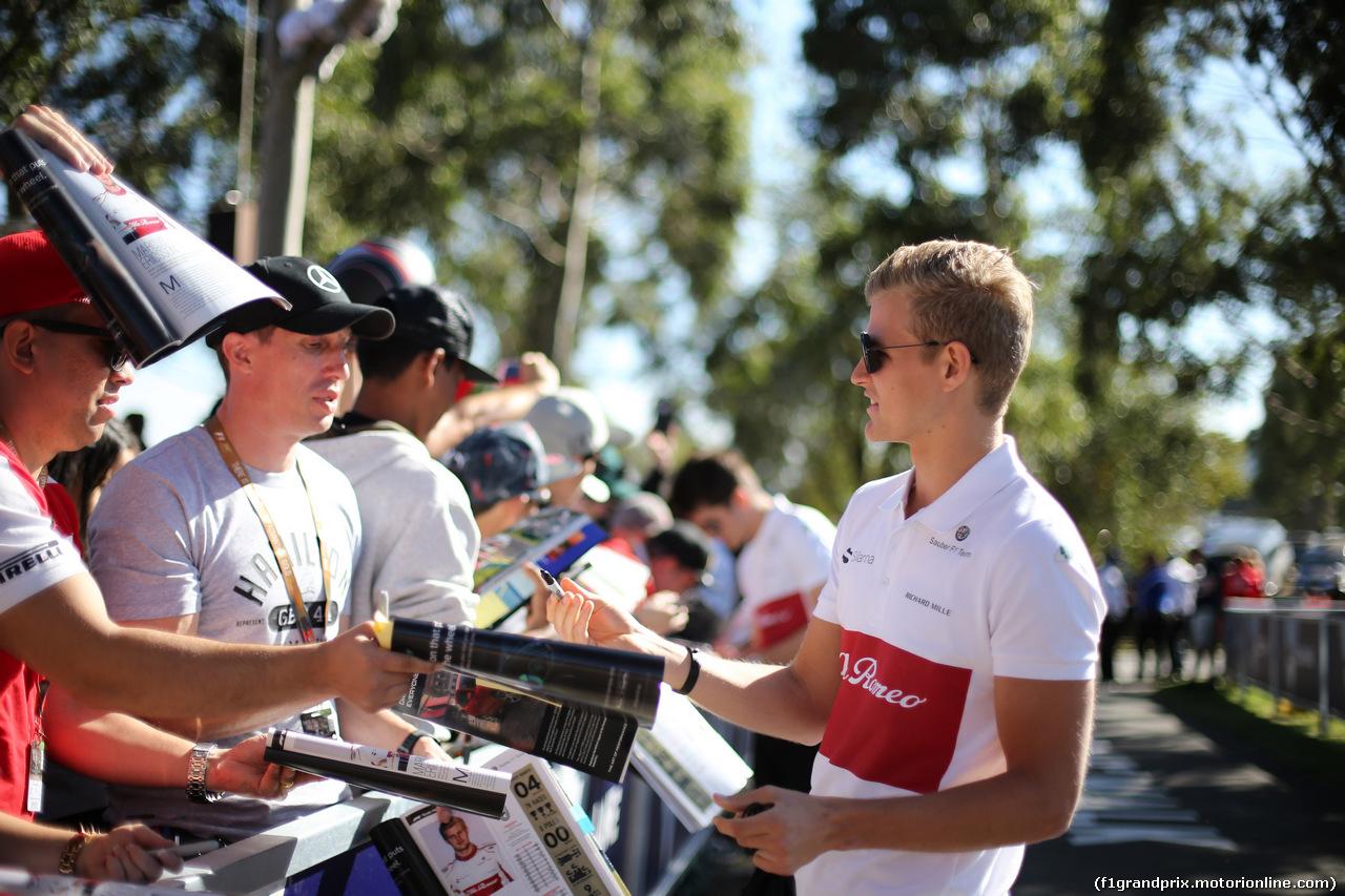GP AUSTRALIA, 22.03.2018 - Marcus Ericsson (SUE) Sauber C37