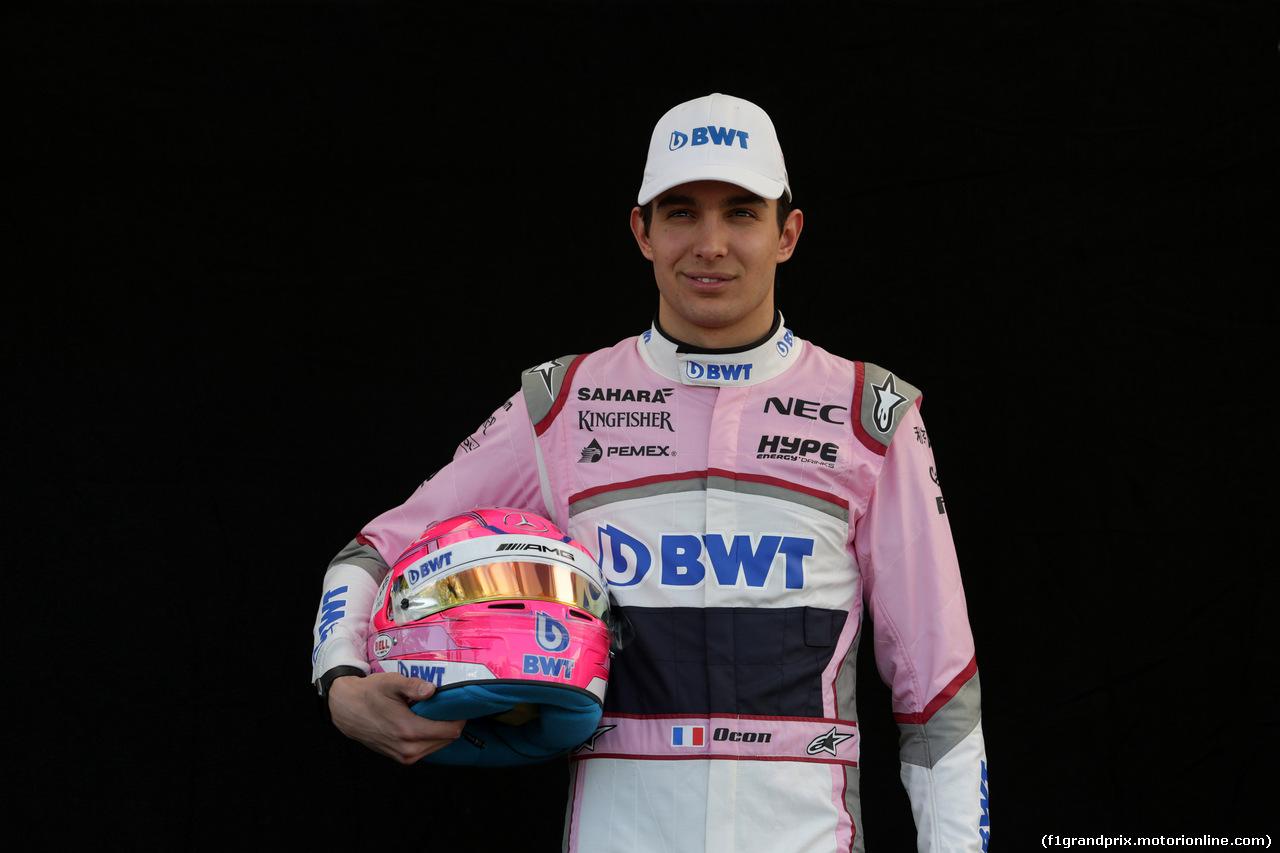 GP AUSTRALIA, 22.03.2018 - Esteban Ocon (FRA) Sahara Force India F1 VJM11