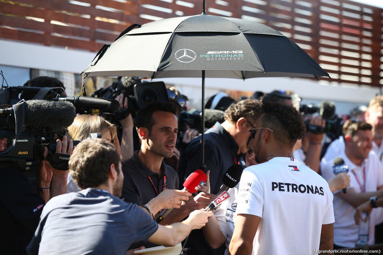 GP AUSTRALIA, 22.03.2018 -  Lewis Hamilton (GBR) Mercedes AMG F1 W09