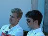 GP AUSTRALIA, 21.03.2018 - Marcus Ericsson (SUE) Sauber C37 e Charles Leclerc (MON) Sauber C37